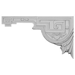"11""W x 6 3/8""H x 1/2""D Legacy Stair Bracket, Left"
