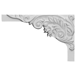 "11""W x 7""H x 5/8""D Springtime Stair Bracket, Left"