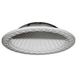 "47 3/8""OD x 38 3/8""ID x 10 3/8""D Claremont Recessed Mount Ceiling Dome (39""Diameter x 10 1/2""D Rough Opening)"