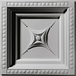 "24""W x 24""H x 2 7/8""P Star Ceiling Tile"
