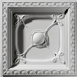 "24""W x 24""H x 2 7/8""P Colonial Ceiling Tile"