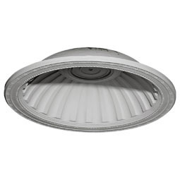 "31 7/8""OD x 25 1/8""ID x 7 3/8""D Milton Recessed Mount Ceiling Dome (25 1/8""Diameter x 6 7/8""D Rough Opening)"