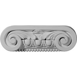 "9 1/2""W x 3 1/8""H x 2 1/4""D Southampton Capital (Fits Pilasters up to 5 3/4""W x 5/8""D)"