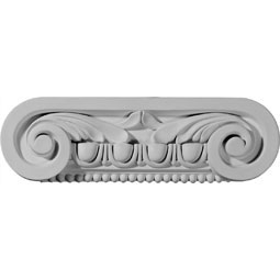"10 1/4""W x 3""H x 2 1/2""D Southampton Capital (Fits Pilasters up to 6 3/4""W x 5/8""D)"