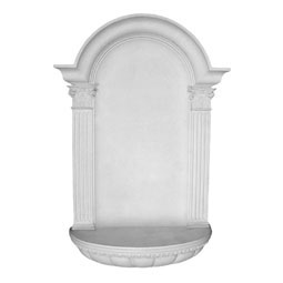 "27 1/2""W x 45""H x 7 1/4""D Waltz Wall Niche, Surface Mount"