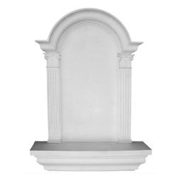 "30 1/4""W x 42 5/8""H x 6 7/8""D Large Waltz Wall Niche, Surface Mount"