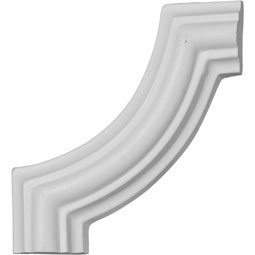 "3 1/8""W x 3 1/8""H Wakefield Traditional Panel Moulding Corner"