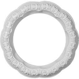 "10""OD x 6 5/8""ID x 1 5/8""W x 1 1/4""P Swindon Ceiling Ring"