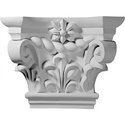 "19 1/4""W x 6 1/4""D x 14 3/8""H Kendall Capital (Fits Pilasters up to 9 1/2""W x 1 3/8""D)"