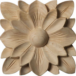 4 1/4&quot;W x 4 1/4&quot;H x 5/8&quot;P Springtime Rosette
