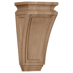 "6""W x 4 3/4""D x 12""H Arts and Crafts Corbel"