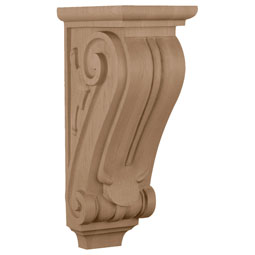 "5""W x 8""D x 14""H Medium Classical Corbel"
