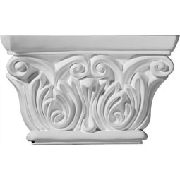 "8 5/8""W x 5 1/2""H Chesterfield Capital (Fits Pilasters up to 5 1/4""W x 5/8""D)"