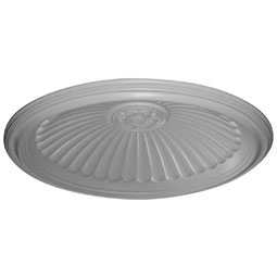 "44 1/8""OD x 37""ID x 6 7/8""D, Edwards Ceiling Dome, 3 1/2""W Trim (36 1/2""Diameter x 8 7/8""D Rough Opening)"