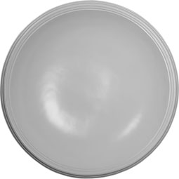 "44 1/8""OD x 39""ID x 8 3/8""D, Recessed Smooth Ceiling Dome, 2 1/2""W Trim (40""Diameter x 7 3/4""D Rough Opening)"