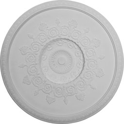 "47 1/2""OD x 41 3/4""ID x 8 5/8""D, Andrea Ceiling Dome, 2 7/8""W Trim (41 3/8"" Diameter x 7""D  Rough Opening)"