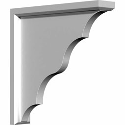"3 1/2""W x 15""D x 19""H Traditional Bracket"