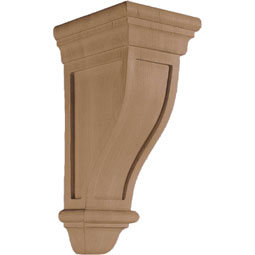 "5 3/4""W x 14""H x 7 1/2""D Corbel American Arts and Crafts Medium"