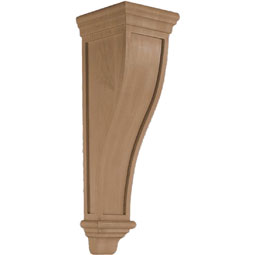 "7 5/8""W x 26 1/2""H x 8 5/8""D Corbel American Arts and Crafts Large"