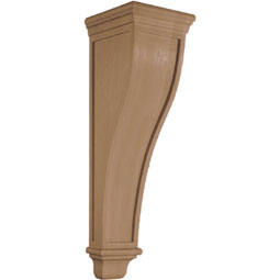 "9 3/4""W x 34''H x 11""D Corbel American Arts and Crafts Extra Large"