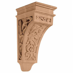 "5 3/4""W x 14""H x 7 3/8""D Corbel Art Nouveau Medium"