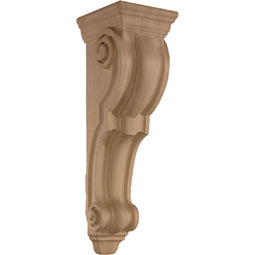 7 5/8&quot;W x 26 1/2&quot;H x 8 3/4&quot;D Corbel Plain Large