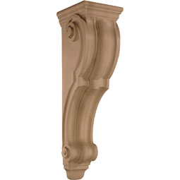 9&quot;W x 34&quot;H x 10 5/8&quot;D Corbel Plain Extra Large