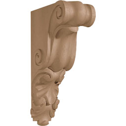 "3""W x 9 1/2""H x 6""D Corbel Shell Small Narrow"