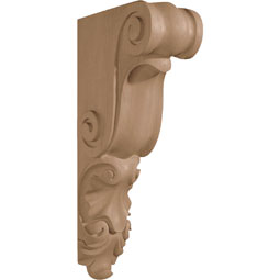 "5""W x 18""H x 8 3/4""D Corbel Shell Large Narrow"