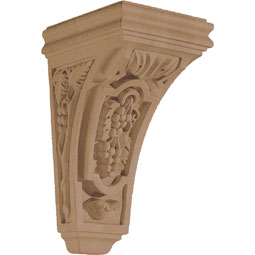 "4 3/4""W x 9 1/2""H x 5 3/4""D Corbel Vineyard Small"