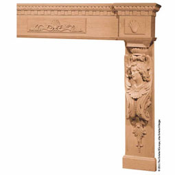 Mantel Angel Base With Molds & Onlays, MLT-AOM,