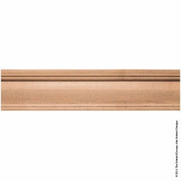 "7""H x 2 1/4""P Mantel Fascia Extension, 4' Length,"