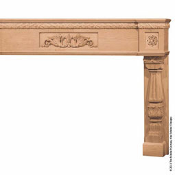 Mantel Palatial Base with Onlays, Molding Trim, MLT-PNO