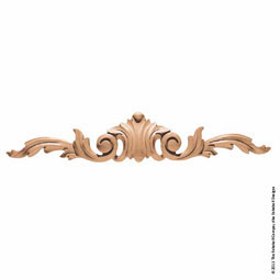 "20""W x 3 3/4""H x 1 1/2""P Pull Acanthus Large"