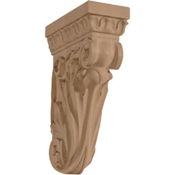 "3 3/4""W x 8 1/2""D x 13""H Hearst Celestial Medium Narrow Corbel"