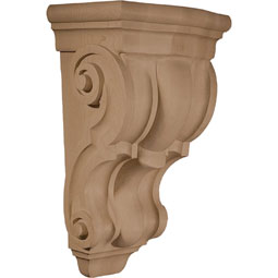 8 1/8&quot;W X 6 3/8&quot;D X 14&quot;H Corbel Plain Wide Medium