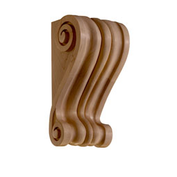 "5 1/4""W x 4 1/2""D x 9 1/2""H Corbel Pierre Wide Small"