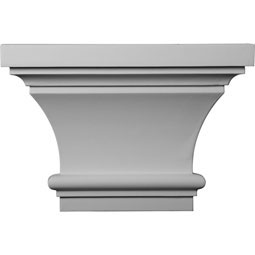 "13""W x 8 7/8""H x 4""P Classic Capital (Fits Pilasters up to 7""W x 1""D)"