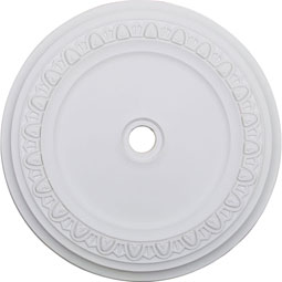 "41""OD x 4""ID x 2 3/8""P Caputo Ceiling Medallion (Fits Canopies up to 5 1/2"")"