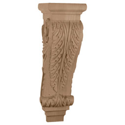 "6 3/4""W x 7 5/8""D x  22""H, Extra Large Acanthus Corbel"